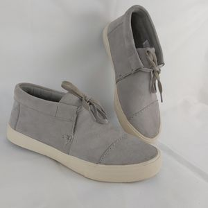 Toms men's suede hight top shoes size 7